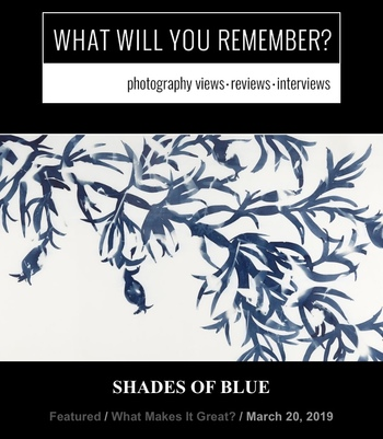 Review of Shades of Blue Exhibit at Panopticon Gallery